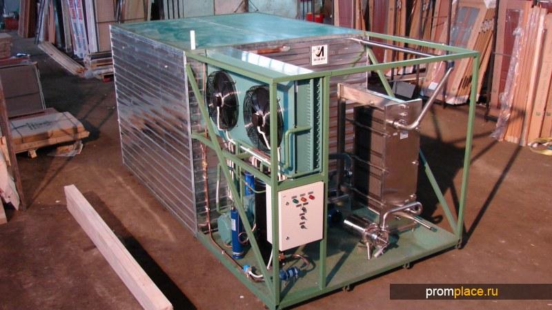 Льдогенератор (система охлаждения молока).