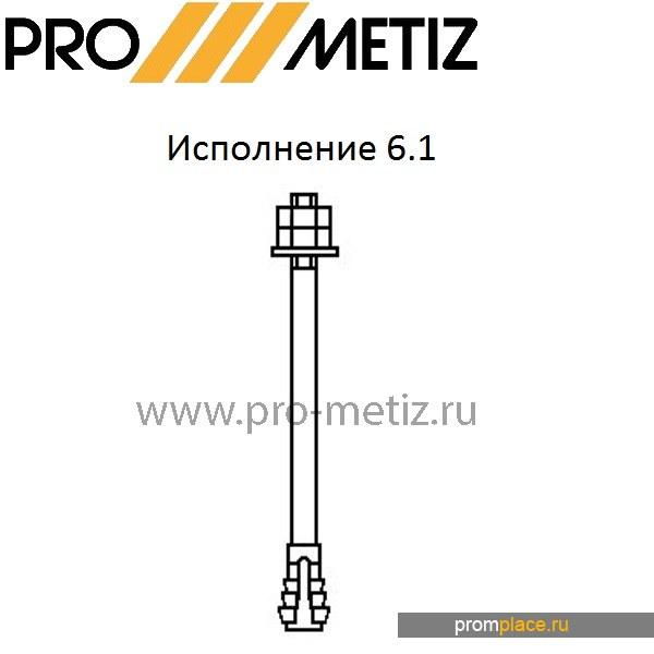 Фундаментный болт 6.1 М24Х710 09г2с ГОСТ 24379 1.80 ГОСТ 24379.1-2012