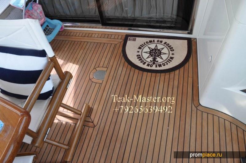 Тиковая палуба  или Тиковое Палубное Покрытие, от Тик-Мастер