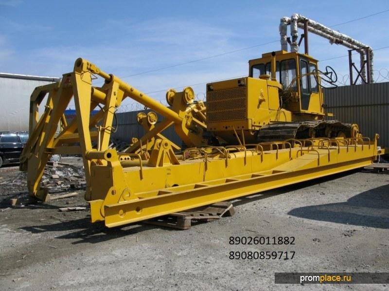 Сваебойная копровая установка копер СП 49 Д сваебой на базе трактора Т10Б ЧТЗ