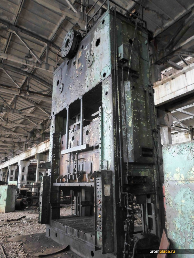 Делаем капитальный ремонт прессов и другого станочного оборудования
