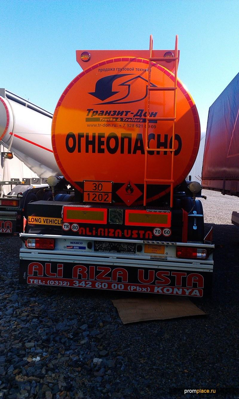 Полуприцеп-бензовоз Ali riza Usta 35 000 литров