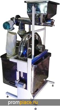 ИКМ-1925 переработает Шелуху риса гречаны отруби амарант в 30 мКм