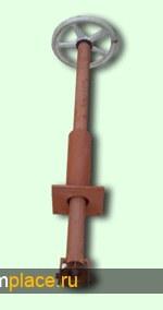 Удлинитель шарнирный для задвижек, вентилей типа УШЗ, УШЗС, УШВ, УШВС, УЗ по Т-ММ-01-00.