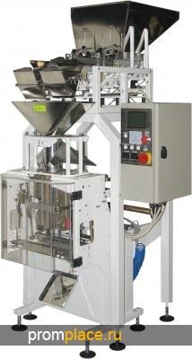 Фасовочный автомат с весовым дозатором для фасовки круп в пакет формируемый из рулона пленки