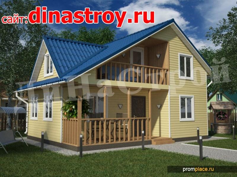 Строительная компания ООО, ДиНаСтрой. Строительство каркасных домов.
