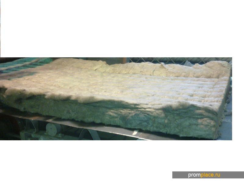 Маты теплоизоляционные базальтовые прошивные
