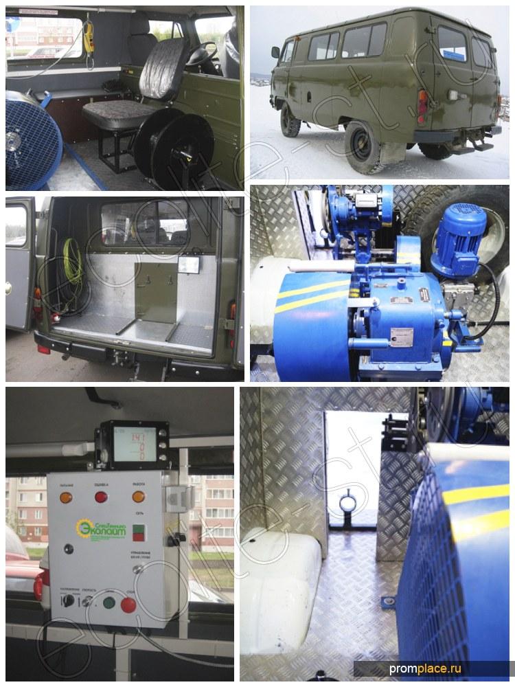 Лаборатория исследования скважин на базе УАЗ 3909