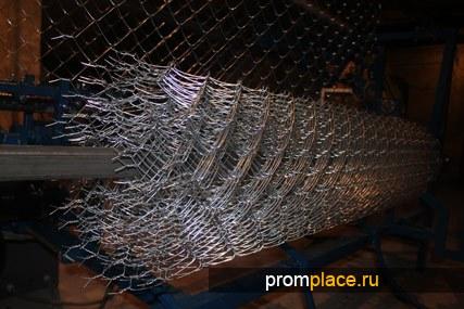 Станок автомат Рабица для производства сетки с загнутыми и скрученными краями