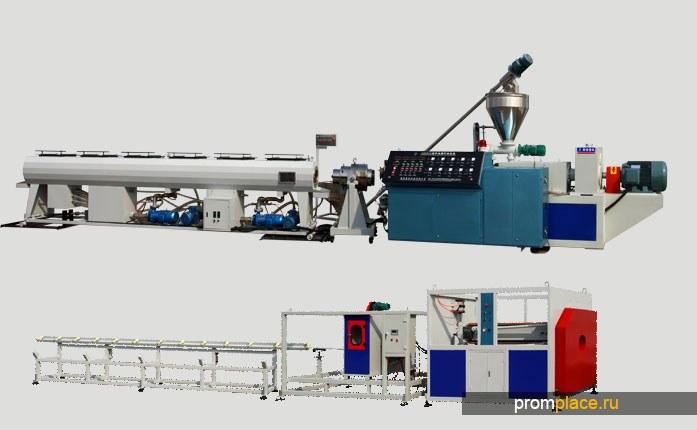 Оборудование для производства полиэтиленовых труб ,