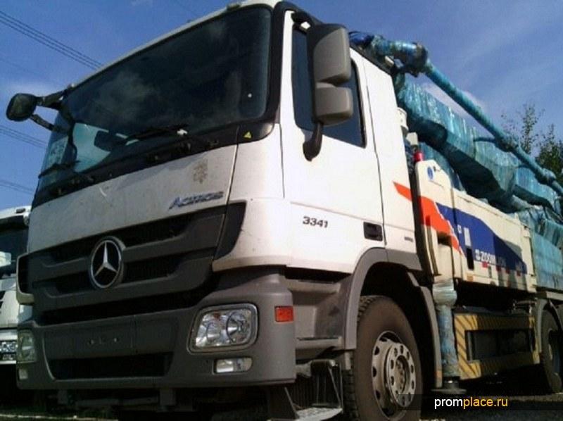 Автобетононасос Mercedes Actroc 3341, BlueTec 4.