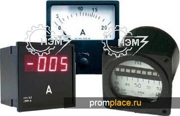 Амперметр, вольтметр, частотомер, ваттметр, варметр, фазометр, электроизмерительные приборы (в т.ч. с индикацией)