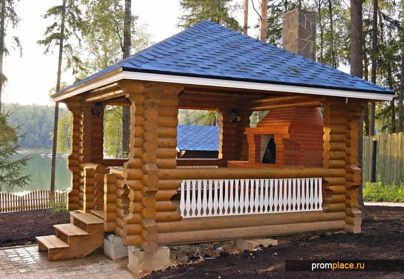 Дома и бани из оцилиндрованного бревна высокого качества