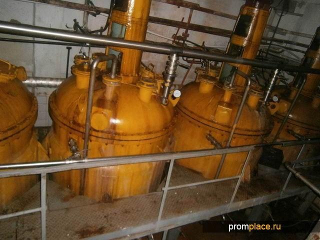 Продам Реактор нержавеющий, объем 3,2 куб.м.