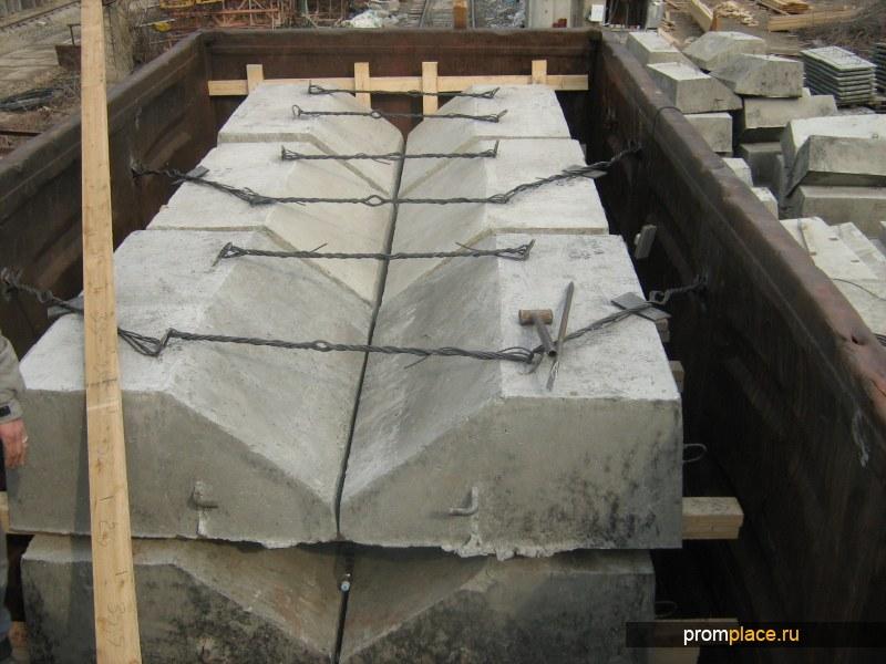 Утяжелители бетонные УБО 1220 (компл)