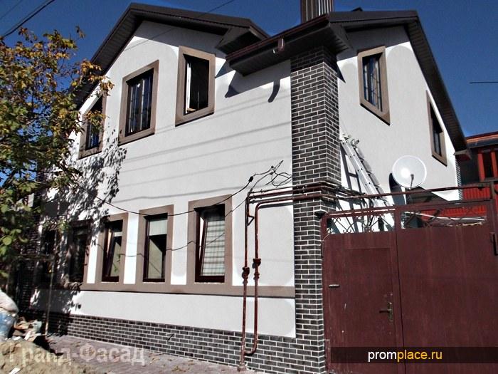 Утепление фасадов зданий, декоративная отделка стен