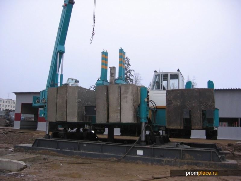 Сваевдавливающая установка ZYJ320