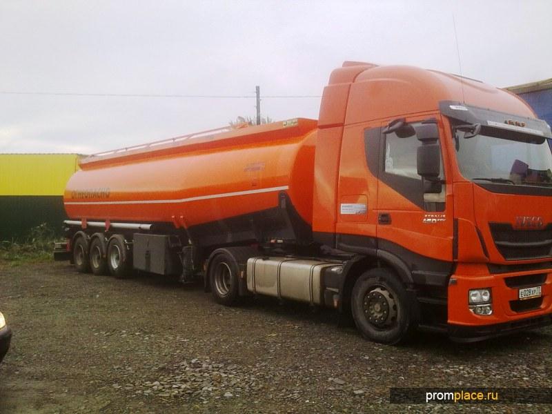 Полуприцеп - цистерна бензовоз 30 000 литров