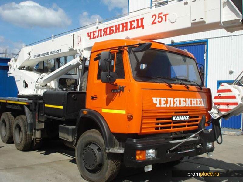 Автокран Челябинец КС-55732-21-25 (25т) КАМАЗ-65115