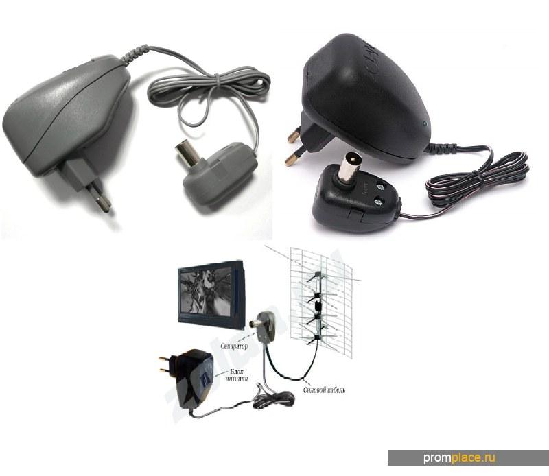 блок питания телевизионной антенны ТВ адаптер 12V сетевой адаптор усилитель Eurosky PCI VOTO 220/12В
