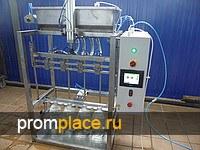 Полуавтомат розлива 4-х головочный 0,17 кВт