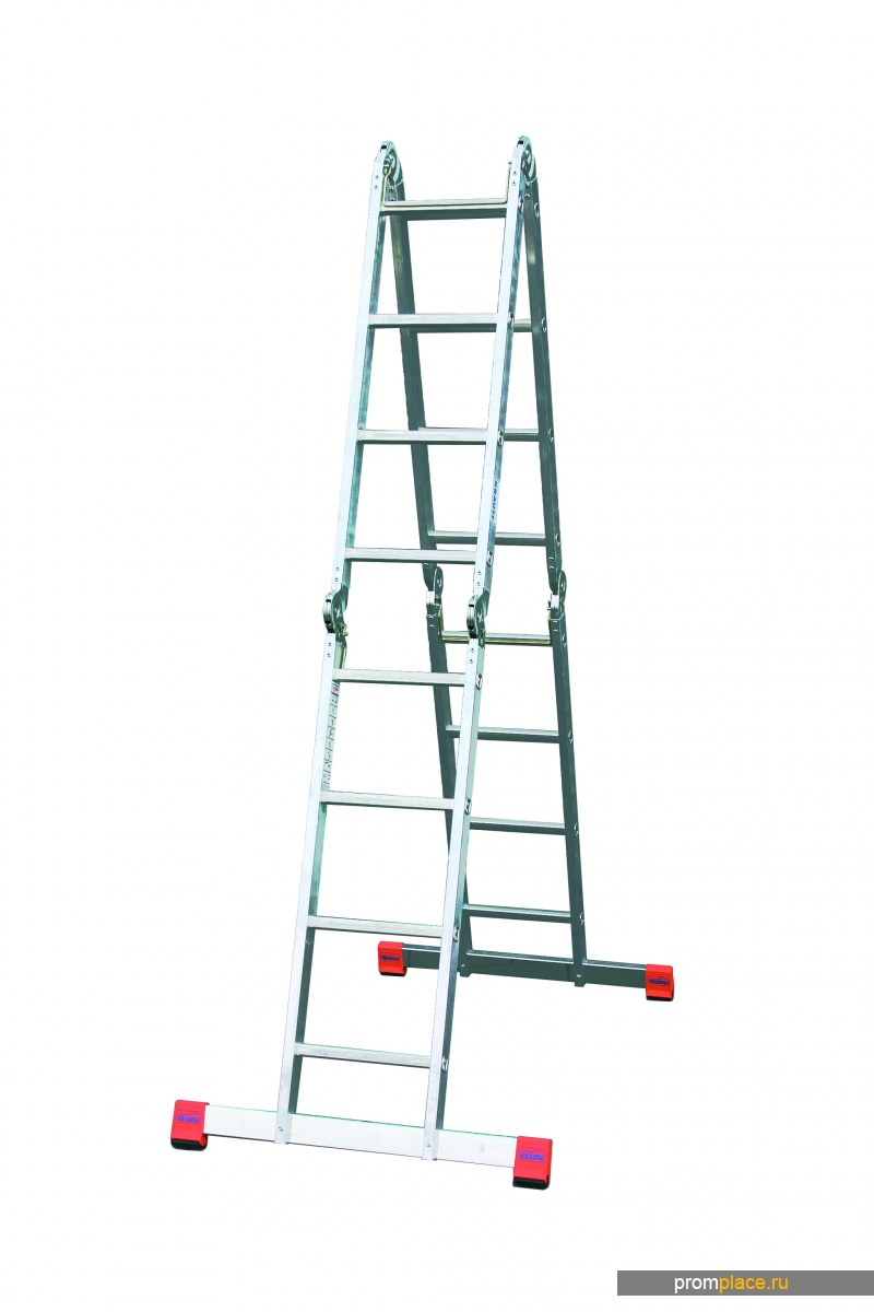MultiMatic Шарнирная универсальная лестница. Рабочая высота: 3,00 m – 5,75 m