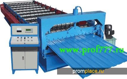 Линия (Оборудование) для производства  профнастила С8 из Китая