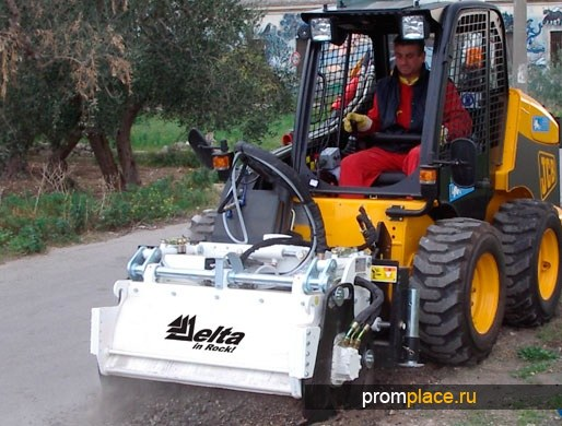 Фреза дорожная Delta P400SL для минипогрузчиков