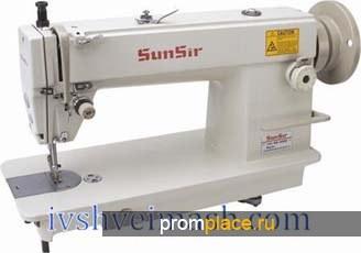 Швейное оборудование: прямострочная одноигольная швейная машина челночного стежка