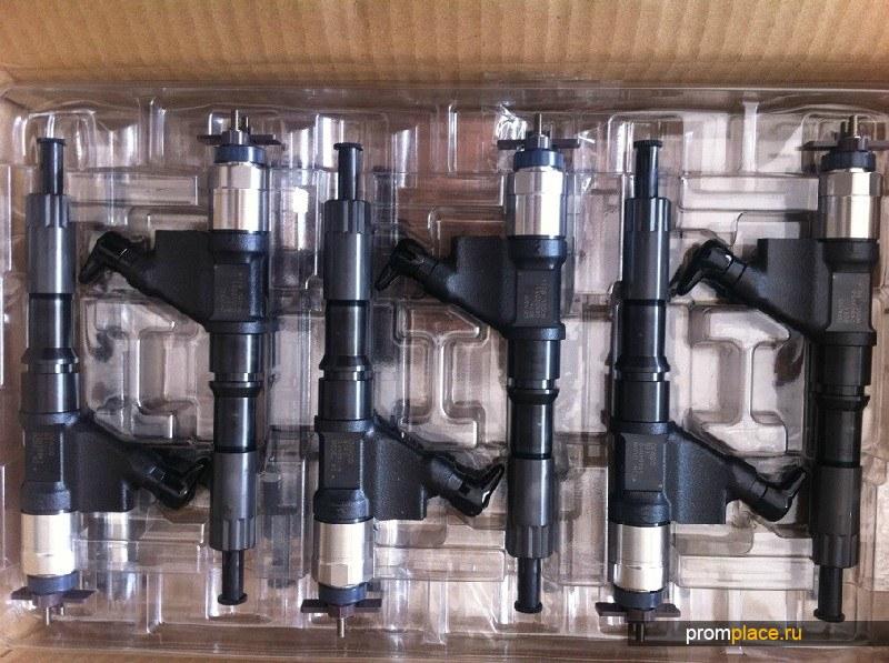Форсунка (насос форсунка) Евро4 HOWO A7 (ХОВО А7) Форсунка Евро-4 DENSO 095000-8011 VG1246080051 к двигателям D12