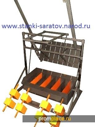 Вибропресс для блоков и полублоков КОМАНЧ_20-12 УНИВЕРСАЛ