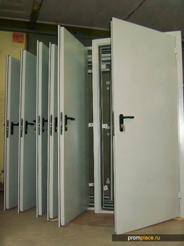 Дверь противопожарная EI-60 глухая 2100х800, 2100х900