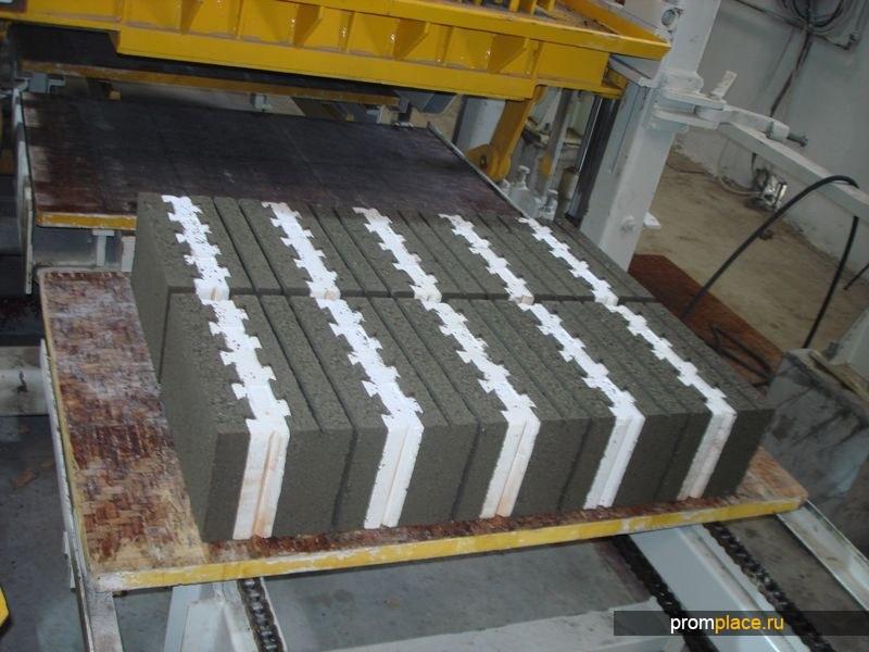 Линии по производству блоков, брусчатки, поребриков.