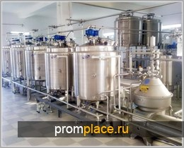 Оборудование по выработке растительных сливок