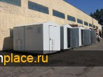 РУ - распределительное  устройство в двух блок-модулях