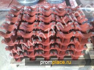 Опоры и траверсы стальных технологических трубопроводов: