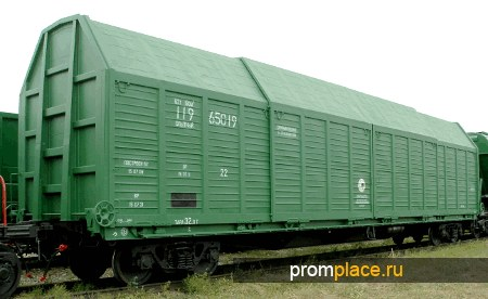 Вагон крытый с раздвижным кузовом  Модель: 11-965