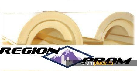 Скорлупа ППУ (пенополиуретан) теплоизоляция трубопровода