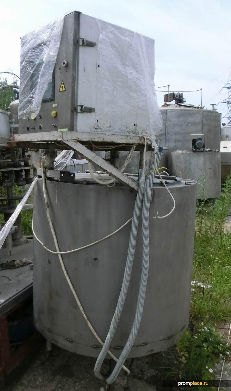 Продам Емкость ОЗУ-350 - нержавеющая, с рубашкой, термосом