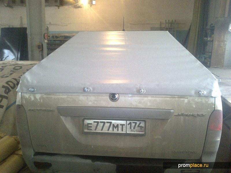 Штора утепленная брезентовая в гараж, цех, производство