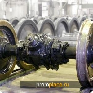 Колесные пары с букс. РУ-1Ш-957Г (100.10.000-12сб) Уралвагонзавод