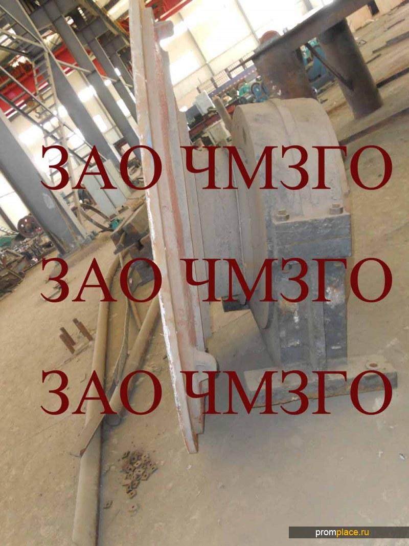 Крышка загрузочная №3601.21.007.2.0 для мельницы МǾ2х10,5,вес 3000кг