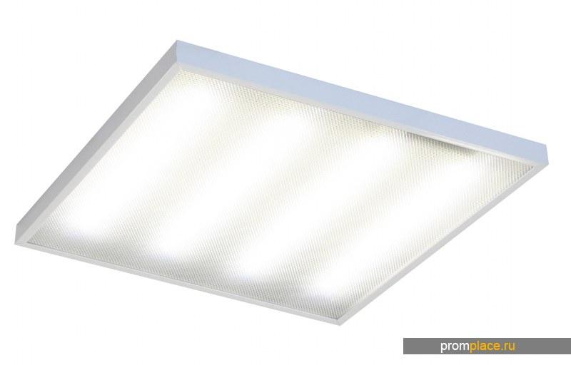 Офисный встраиваемый энергосберегающий  светодиодный светильник LIR-effect Офис-Эконом
