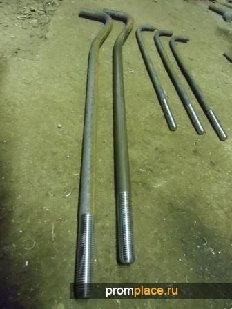Болт фундаментный ГОСТ 24379.1-80 М48х2500 (вес 40,130) тип 1, исполнение 1.