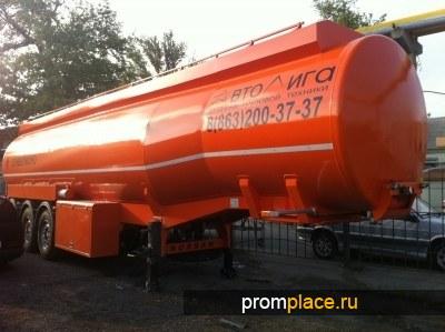 Полуприцеп бензовоз NURSAN 35 м3