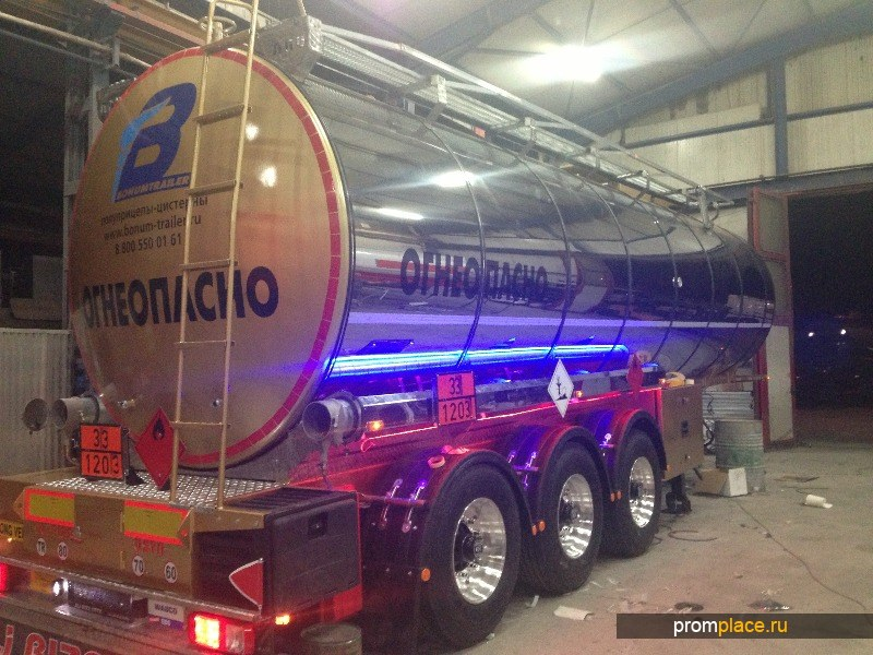 Полуприцеп битумовоз нефтевоз Ali Riza Usta 35000 литров