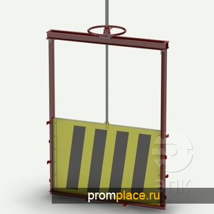 Затвор щитовой лотковый ерия 3.901-12