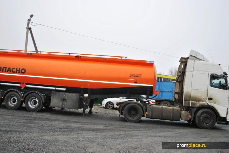 Полуприцеп-цистерна бензовоз 45000 литров 4 секции