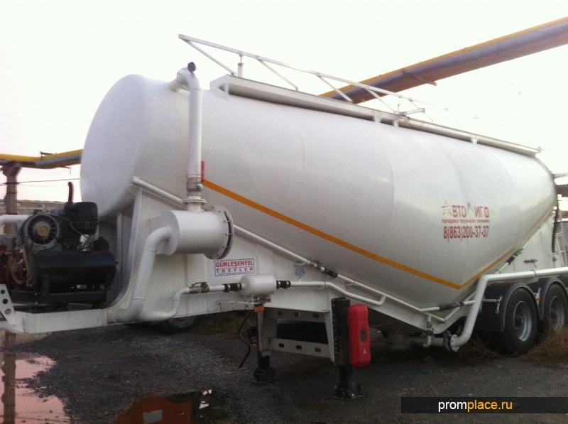 Продам цементовоз GURLESENYIL 34 м3 вакуумный
