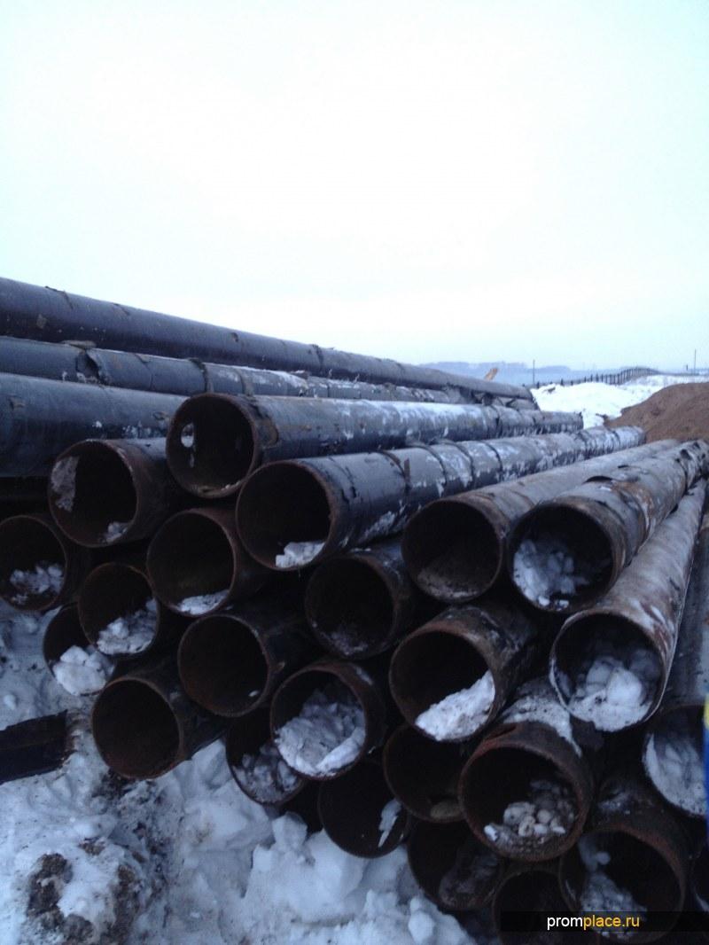 Продаем б/у трубы 273 х 5 (6) в кол-ве 300 тонн.